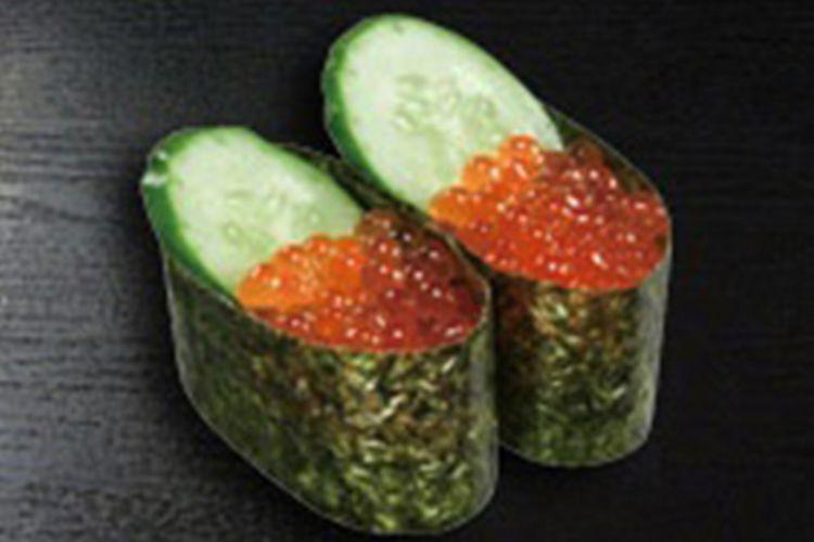 Ikura adalah telur ikan salmon