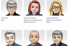 Wajah Bos-bos Apple Berubah Jadi Emoji