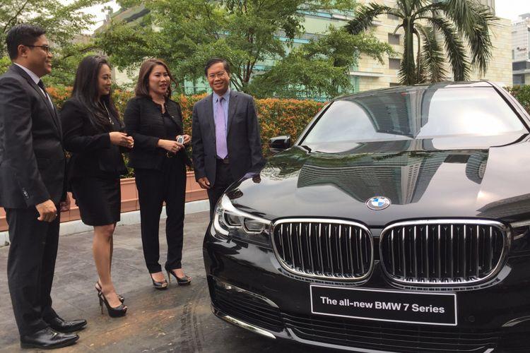 Mobil BMW yang digunakan Kedutaan Vietnam untuk Indonesia
