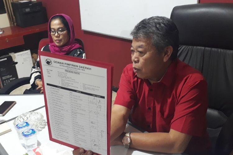2 politisi PDIP Jatim yang diisukan tertangkap KPK, Senin (8/10/2018)