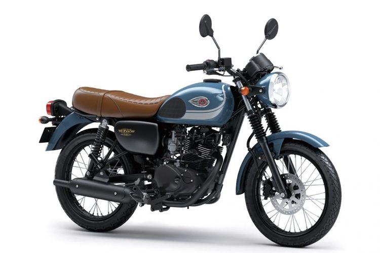 Kawasaki W175 Warna dan Striping Baru