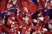 Inilah 'Pasukan Cantik' Pendukung Tim Korea Utara di Pyeongchang