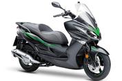 Dua Skutik Kawasaki Punya Warna Baru