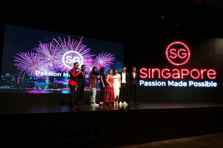 Peluncuran slogan baru dari Singapore Tourism Board di Jakarta, Rabu (6/9/2017)