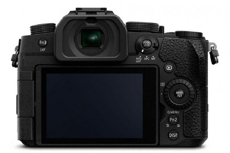 Tampak belakang kamera Mirrorless Lumix G95 Panasonic