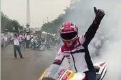 Pebalap Dunia Asal Inggris Diajak 'Motor-motoran' Keliling Jakarta