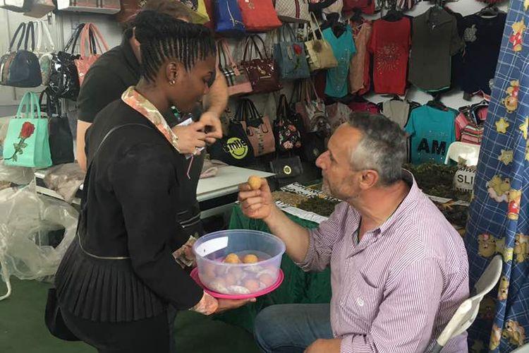 Selain batik, sejumlah produk kuliner khas Indoesia juga disajikan, saat Dar es Salaam International Trade Fair (DITF) ke 42, 28 Juni - 13 Juli 2018, di Tanzania.