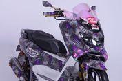 Cara Bikin NMAX 'Berbaju Batik', Modal Kain Batik dan Aibon