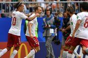 Babak Pertama, Denmark Vs Australia Imbang 1-1