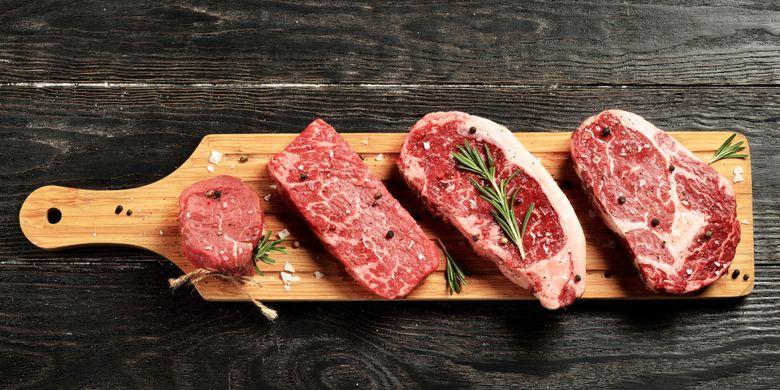 Ilustrasi daging