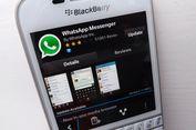 31 Desember 2017, WhatsApp Stop Dukungan untuk BlackBerry OS