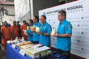 BNN Gagalkan Penyelundupan 38 Kg Sabu dan 30.000 Ekstasi dari Malaysia