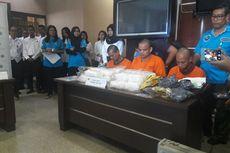BNN Sita 20 Kg Sabu dalam Penangkapan Tiga Kurir Narkoba di Riau