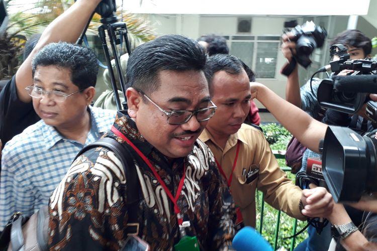 Ketut Mulya Arsana, pengacara Ketua DPR Setya Novanto usai sidang praperadilan di PN Jakarta Selatan, Kamis (30/11/2017).