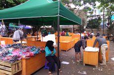 Jelang Lebaran, Korban Kebakaran Pasar Kosambi Mulai Berjualan