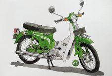 FR 70, Nenek Moyang Motor Bebek Suzuki di Indonesia