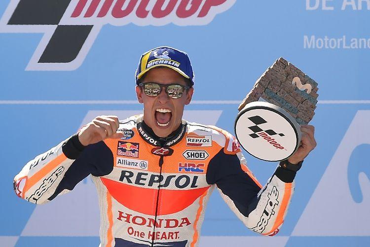 Pebalap Repsol Honda, Marc Marquez.