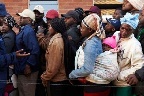 1,1 Juta Warga Zimbabwe Terancam Kekurangan Pangan