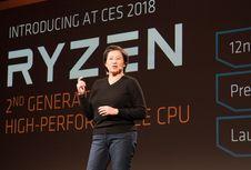 Ryzen Generasi Kedua Dirilis AMD April 2018