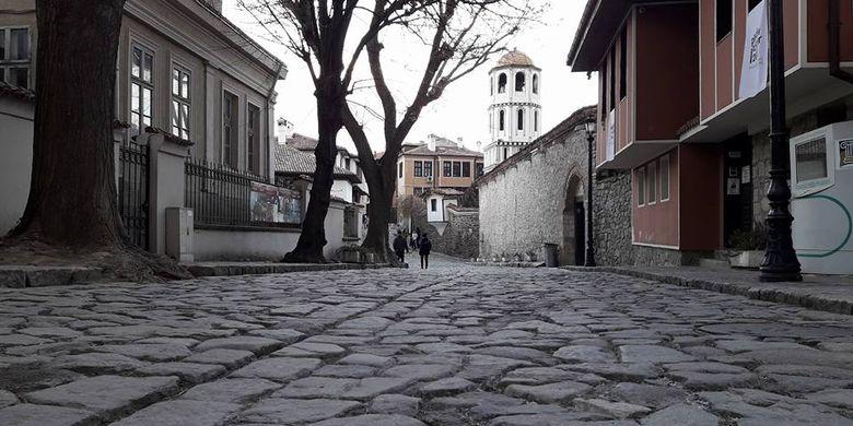 Kota Tua Plovdiv, 3 jam perjalanan dari Sofia, Bulgaria.