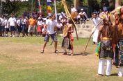 HUT RI, Siswa SMAN 1 Kota Komba Pentaskan Dapa Khas Manggarai Timur
