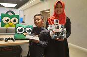 Ocha dan Ave, Kakak Beradik Pencipta Robot 'Roti Bakar'
