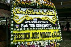 Presiden Joko Widodo Kirim Karangan Bunga untuk Yon Koeswoyo