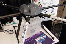 Drone Pembantu Petani buatan Mahasiswa Indonesia Dipamerkan di Kantor Pusat Microsoft