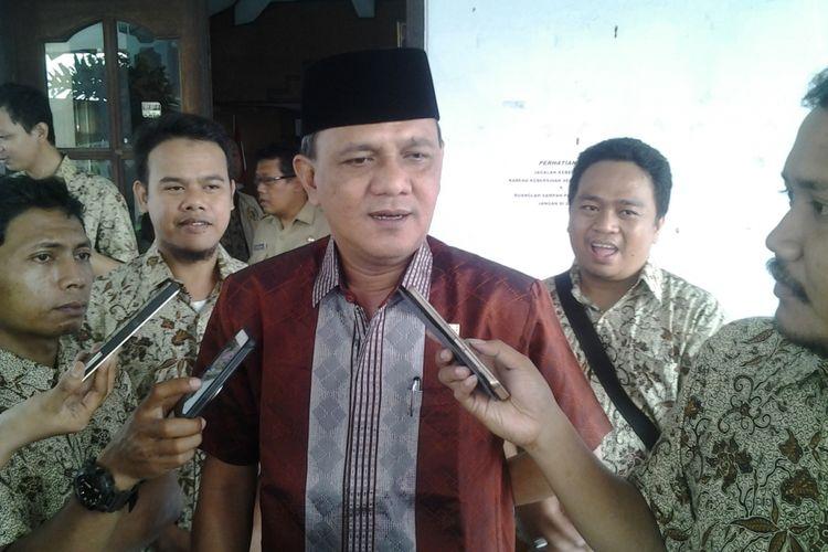 Ketua DPRD Kendal Jawa Tengah,  Prapto utono. Kompas.com /Slamet Priyatin