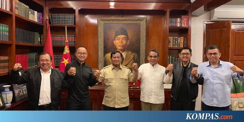 Prabowo Bertemu Lima Sekjen Parpol Koalisi, Ini yang Dibahas...