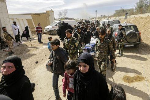 Ribuan Warga Sipil Tinggalkan Ghouta Timur