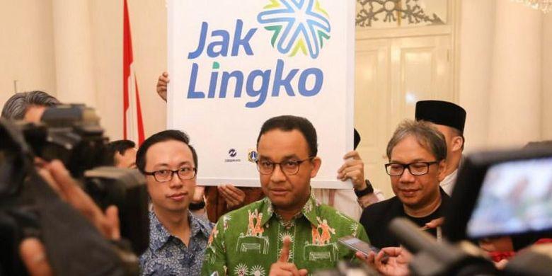 Anies Optimistis Jak Lingko Akan Buat Warga DKI Naik Angkutan Umum