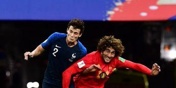 Benjamin Pavard vs Marouane Fellaini