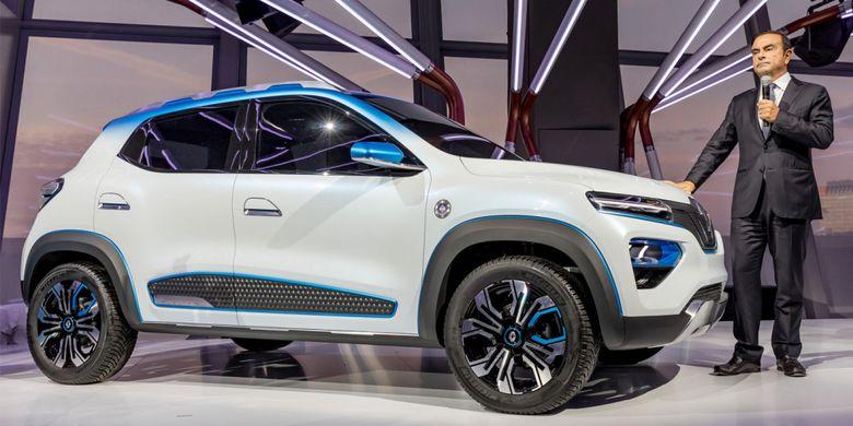 Jelang Paris Motor Show 2018, Renault perkenalkan mobil listrik murah K-ZE