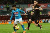 Hasil Liga Italia, Napoli Kalah di Kandang dari AS Roma