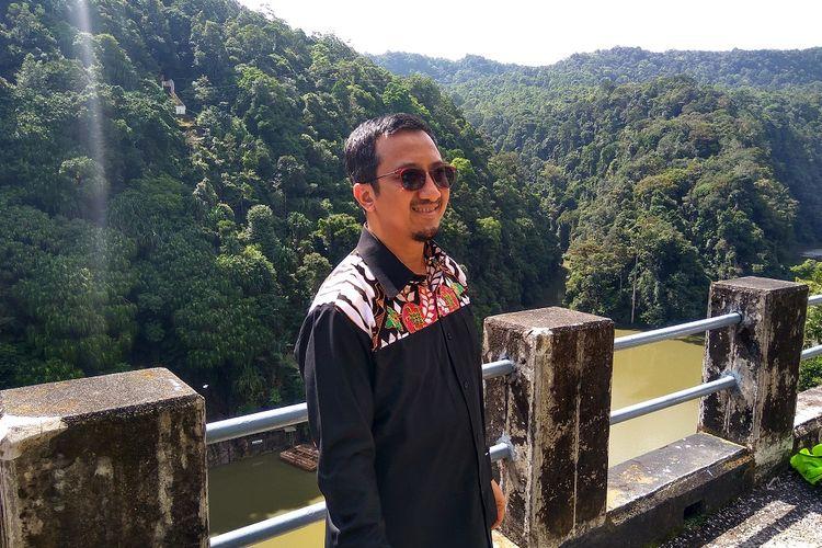 Yusuf Mansur saat berkunjung ke PT Inalum di Asahan Sumatera Utara, Minggu (11/12/2017)
