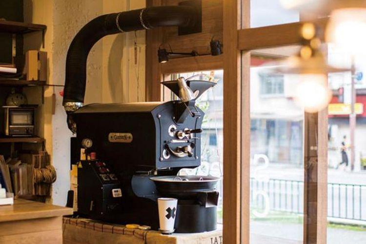 Mesin roasting buatan perusahaan Giesen dari Belanda