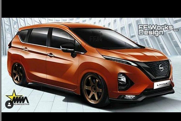 Modifikasi digital Nissan Livina