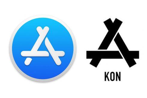 Logo App Store Contek Merek Pakaian China?