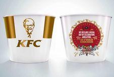 KFC Rilis Ember Ayam Goreng Bertema 'Royal Wedding' Harry dan Meghan