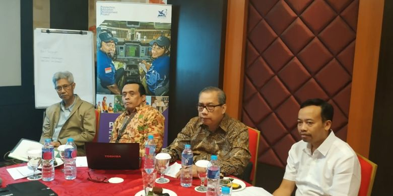 Tantangan menyiapkan lulusan berkompetensi global menjadi topik diskusi Kemenristekdikti), ADB melalui program PEDP dan BNSP di Jakarta, 22 Oktober 2018.