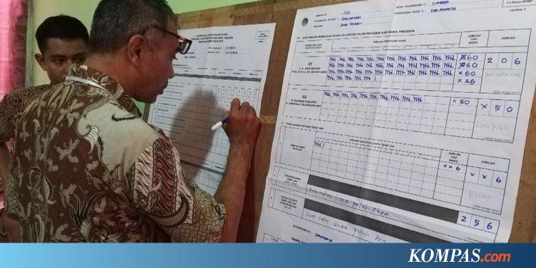 Di TPS Dekat Posko Prabowo-Sandiaga Solo, Jokowi-Ma'ruf Menang Telak