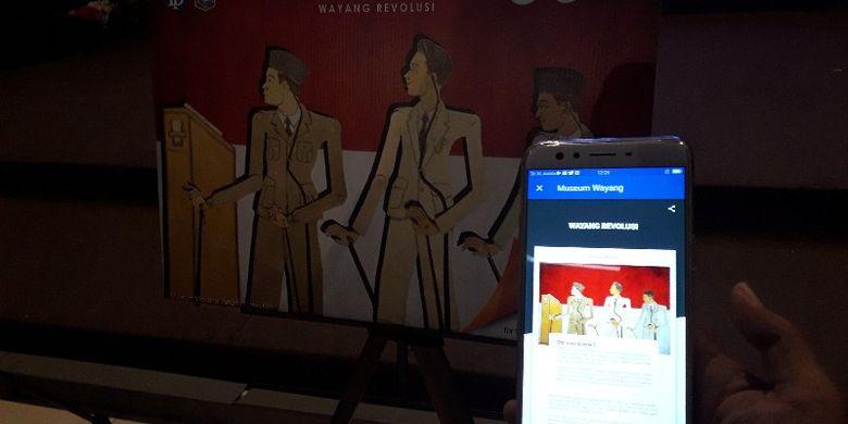 Wisatawan kini bisa mengakses informasi tentang Museum Wayang dengan menggunakan kode QR pada apliaksi Museum Wayang mulai Senin (17/12/2018).