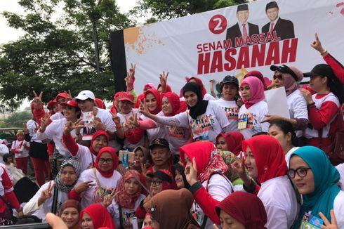 Sosialisasikan Jabar Sehat, TB Hasanuddin Senam bersama Ribuan Perempuan Bekasi