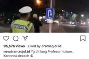 Viral Video Anggota Polantas Dimarahi Pria yang Ngaku Profesor Hukum, Ini Penjelasannya