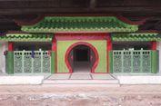 Tak Disangka, Bangunan Bergaya Oriental di Kolong Tol Warakas Itu adalah Masjid