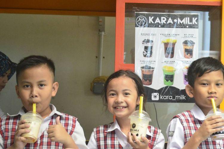 Milkshake Karamilk, diciptakan untuk menjangkau semua umur.