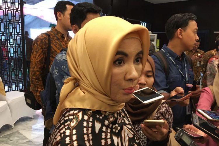 Pelaksana Tugas (Plt) Direktur Utama PT Pertamina (Persero) Nicke Widyawati