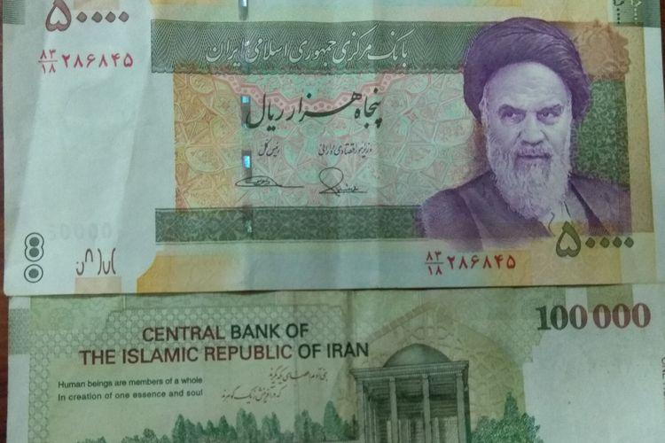 Mata uang Iran, Riyal