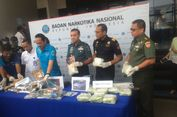BNN Tangkap Oknum TNI yang Diduga Jadi Kurir 63.573 Butir Ekstasi